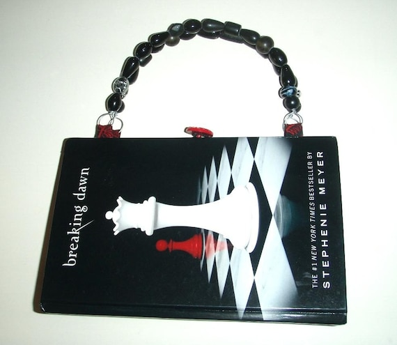 """Altered Book Purse """"Breaking Dawn""""  - Made from Upcycled Book"""