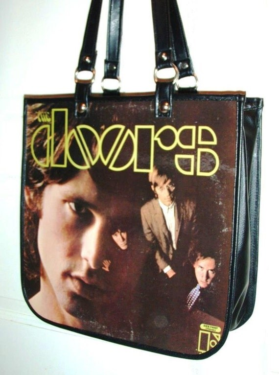 The Doors Record Album Cover Purse Handbag Made From Cover