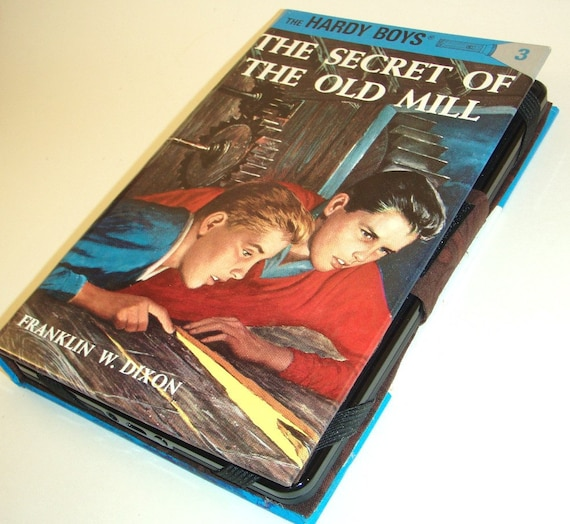 Old Book Kindle Case : Kindle fire case cover made from hardy boys book converts
