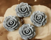 Limited discount Buy 1 Get 1 Free 20pcs Wholesale Beautiful Colorful Rose Flower Resin Cabochon  --20mm(CAB-BS -28)