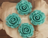 Limited discount Buy 1 Get 1 Free 20pcs 10pcs Wholesale Beautiful Colorful Rose Flower Resin Cabochon --20mm(CAB-BS-43)