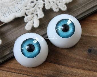6Pcs 12mm 16mm 18mm 20mm  Eye ball Cabochon -(CAB-CX-1)