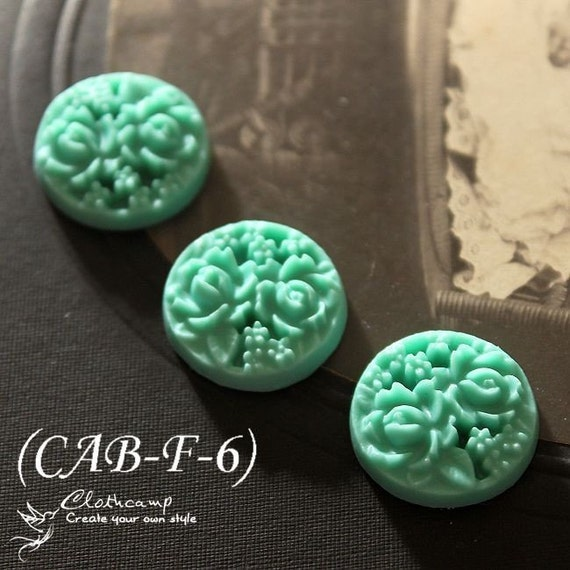 Last-BIG SALE-20pcs Beautiful Colorful Highly Detailed Cabochon --18mm(CAB-F -6)