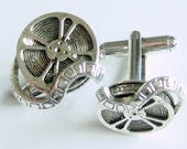 film reel movie cufflinks