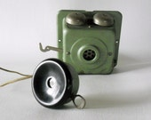 Vintage School Bell and Intercom System