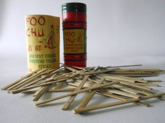 how to use chinese fortune sticks