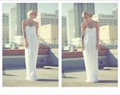Sale Silk Strapless Bow dress