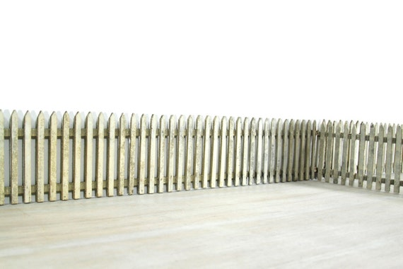 Antique Handmade Picket Fence