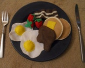 Felt Food Breakfast Set