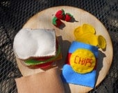 Felt Food Sak Lunch Set