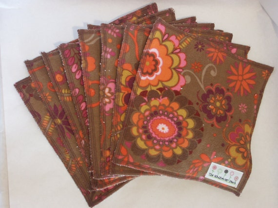 CLEARANCE  Ready to Ship - Flannel/Terry Cloth Napkins