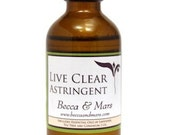 Live Clear Astringent, Oily Skin Products