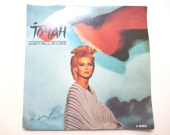 Vintage Vinyl Toyah Don't Fall in Love single