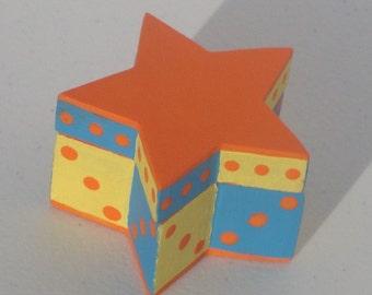 Orange Star Box