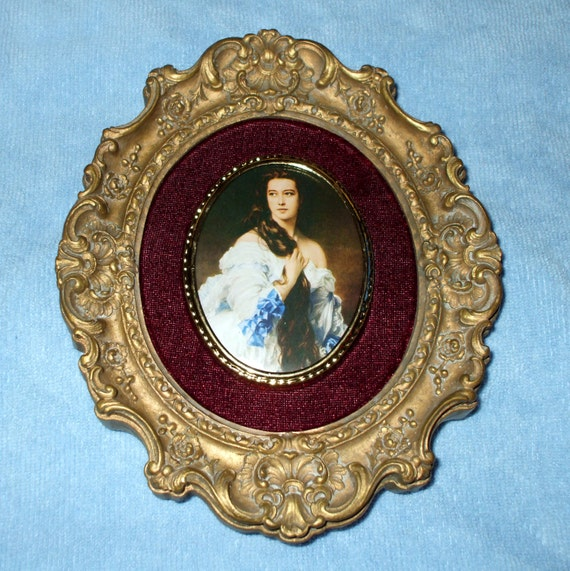 Reserved for Mariana- Lovely Cameo Creation Style Plaque