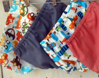 Boys Diaper Cover - You Choose Fabric