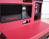 Polaroid Camera- Red Cool Cam