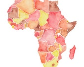 8.5x11 - Africa Print