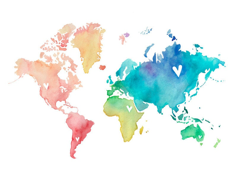 World map etsy timekeeperwatches updated gumiabroncs Image collections