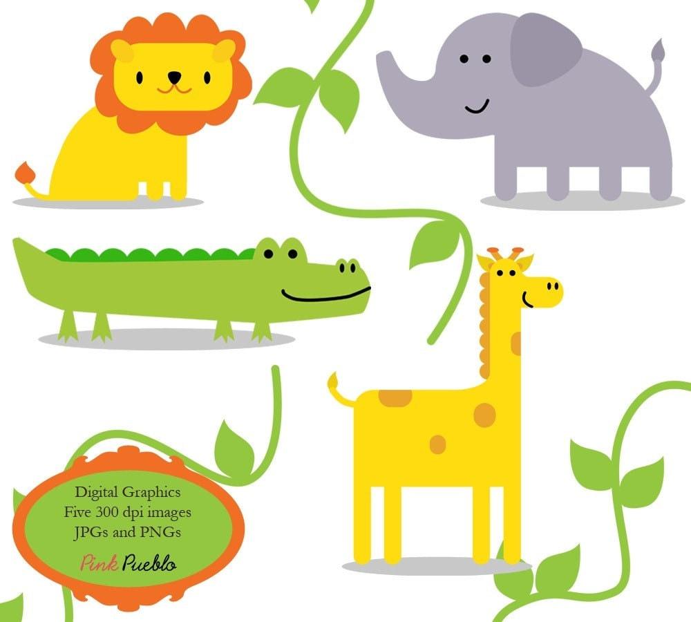clipart of jungle animals - photo #21