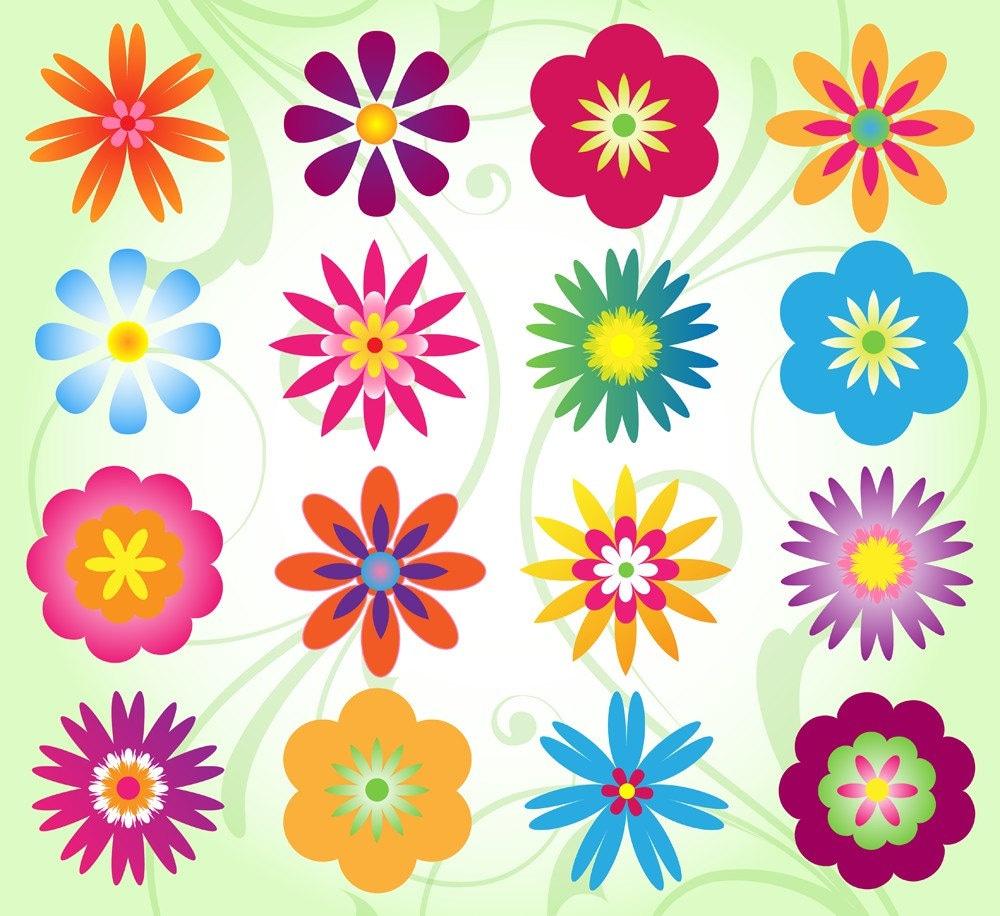 Flower Clip Art Clipart Mod Flower Clip Art Clipart: flower clipart