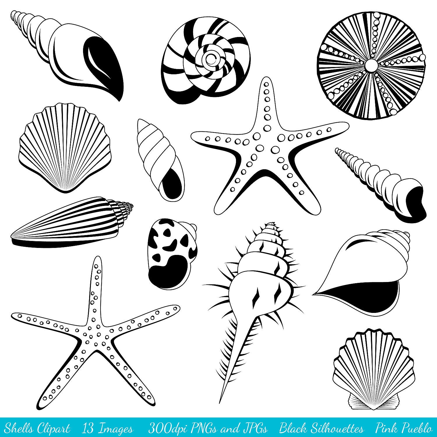 Request a custom order and have something made just for you Ocean Silhouette Clip Art