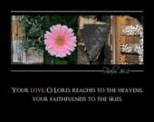 Love ALPHABET PHOTO 5x7 Print