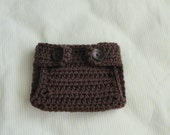 Crocheted Baby Diaper Cover (Newborn , 0-6, 6-12 months )  - Photo Prop