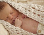 SALE - Crocheted Baby Egg Cocoon Bowl/Nest - Photo Prop (Available in Different Color)