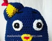 Blue Bird Crochet Beanie - Made to Order