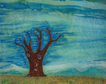 Seasons Change / Landscape / Expressionism / Surrealism / Tree