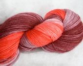 Long Gradient Ombre Fingering Sock Yarn 100g - Grapes of Love