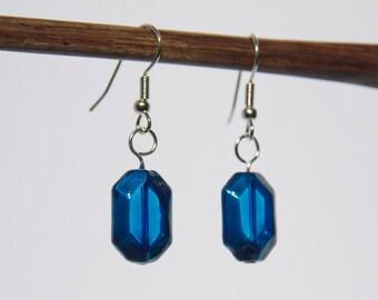 Zelda Glass Rupee Earrings