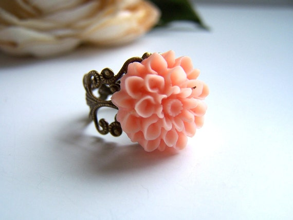 the peach vera ring.