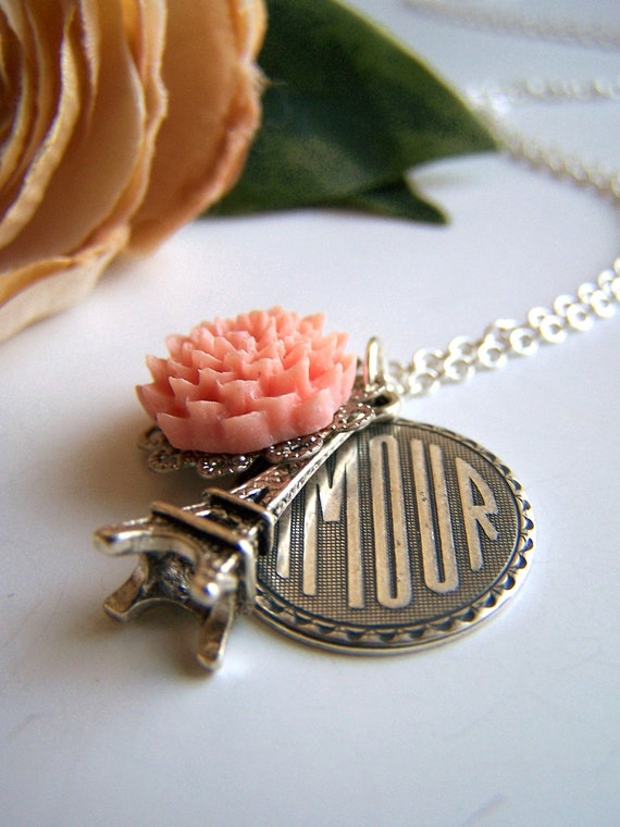 the amour necklace.