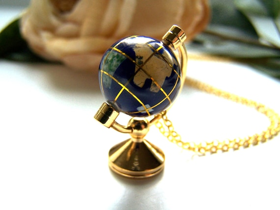 the world on a string necklace.