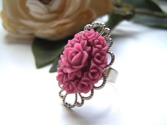 the raspberry georgia ring.