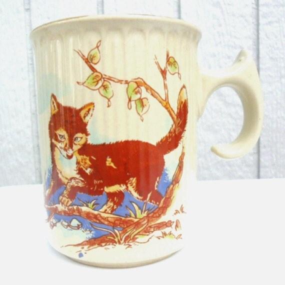 Vintage Fox Mug