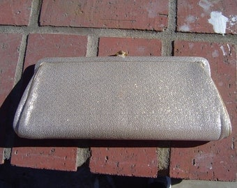 Vintage Gold Evening Clutch Purse