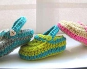 Supplies, Pattern, Crochet, Crochet Pattern  for Crochet Baby Slippers, INSTANT DWONLOAD, Crochet Pattern for Boys or Girls Slippers