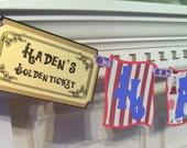 Willy Wonka & the Chocolate Factory Birthday Banner