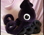 Baby Dark Purple Squid Plush