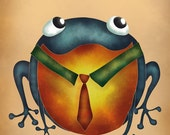 Love frogs postcards with custom message