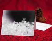 Single Snowflake - Fine Art Holiday Card (set of 6)