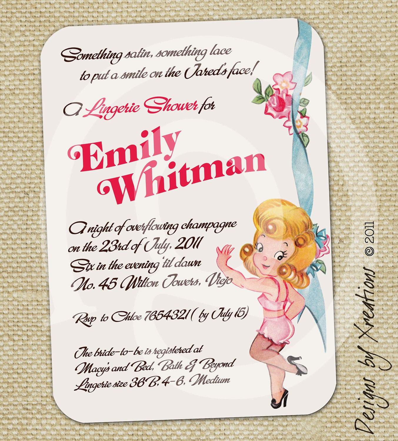 Cute Bridal Shower Invitation Wording with good invitations layout