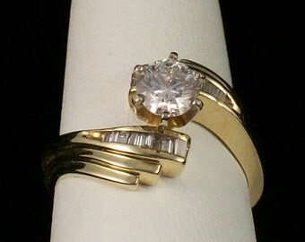 Right Hand Diamond Ring or Engagement Ring