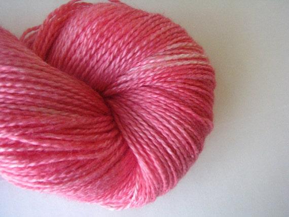 Geranium - Soy Beautiful - hand dyed yarn