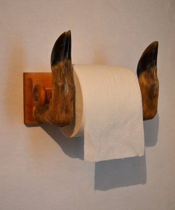 Unique taxidermy toilet paper holder Creative toilet paper holder