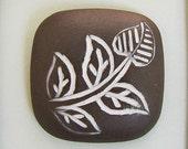 Ceramic Cabochon - Etsy - 030 (Paisley Square)