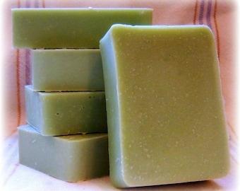 Cucumber ...Handmade Lye Soap